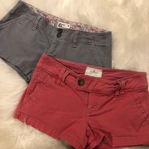 WOMENS AMERICAN EAGLE SHORT BUNDLE